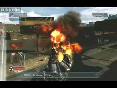 Transformers 2 - Megatron vs Optimus Prime gameplay