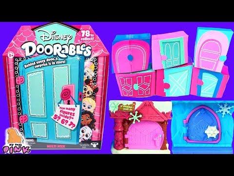 #СЮРПРИЗЫ В ДВЕРКАХ DOORABLES от Disney! Распаковка Игрушек для Детей с Май Тойс Пинк kids video