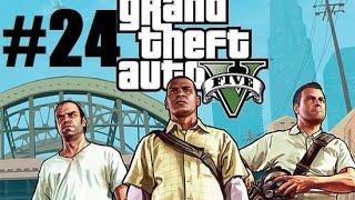 Прохождение игры GTA 5 [PC 60fps] #24 Подготовка к банку и прощайте братья о нил