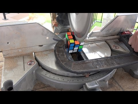 What's inside a Rubik's Cube?