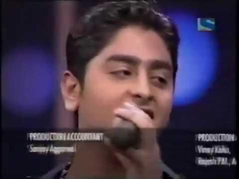 The young Arijit Singh live   Lagan Lagi   Fame Gurukul   Last Day of arijit 2005   YouTube