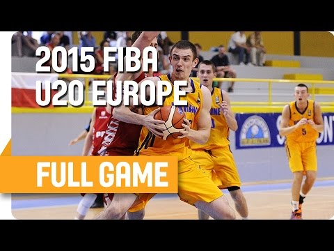 Ukraine v Poland - Group C - Full Game - U20 European Championship Men