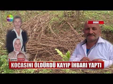 Kocasını öldürdü kayıp ihbarı yaptı