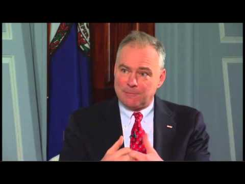 Sen. Tim Kaine: Need Consensus b/t President & Congress on Military Action