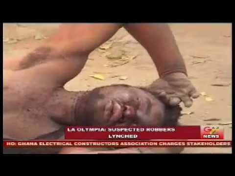 Two Armed Robbers Lynched