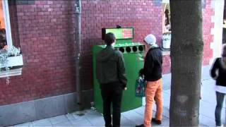Marketing de Guerrilla - The Fun Theory 3 - Bottle Bank Arcade Machine. Volkswagen