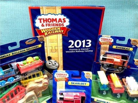2013 King Of The Railway Wooden Toy Trains! Thomas The Tank Engine - Dealer Catalog / Yearbook