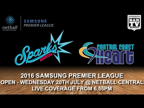 2016 SAMSUNG PREMIER LEAGUE - Open - Round 12 - UTS St. George Sparks vs Central Coast Stingrays