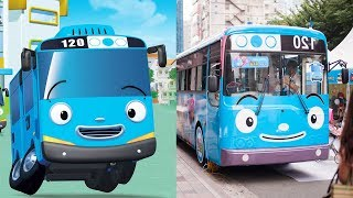 Tayo The Little Bus Characters In Real Life | All Characters 2017