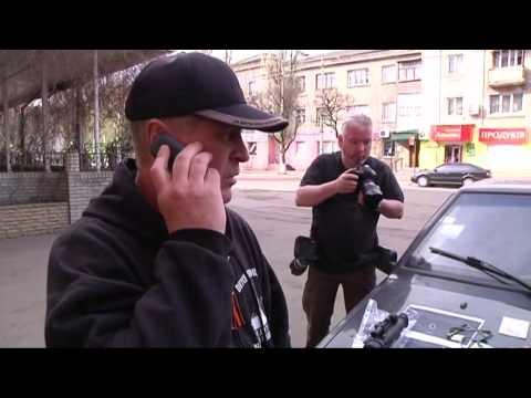 Ukraine: Fusillade Slaviansk