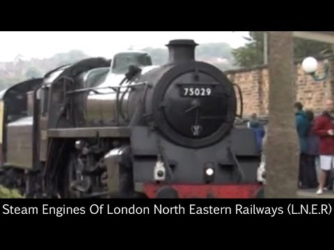 Steam Engines Of British Railways (B.R.)