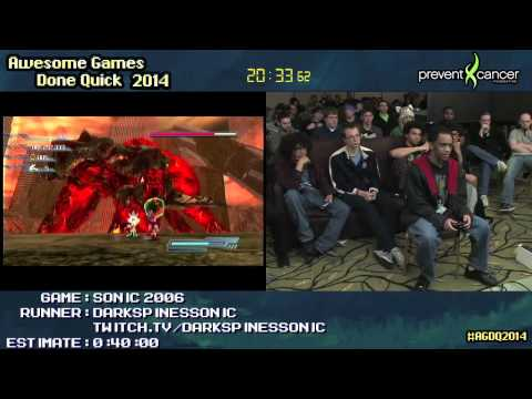 Sonic The Hedgehog 2006 :: Large-skips SPEED RUN Live by DarkspinesSonic...
