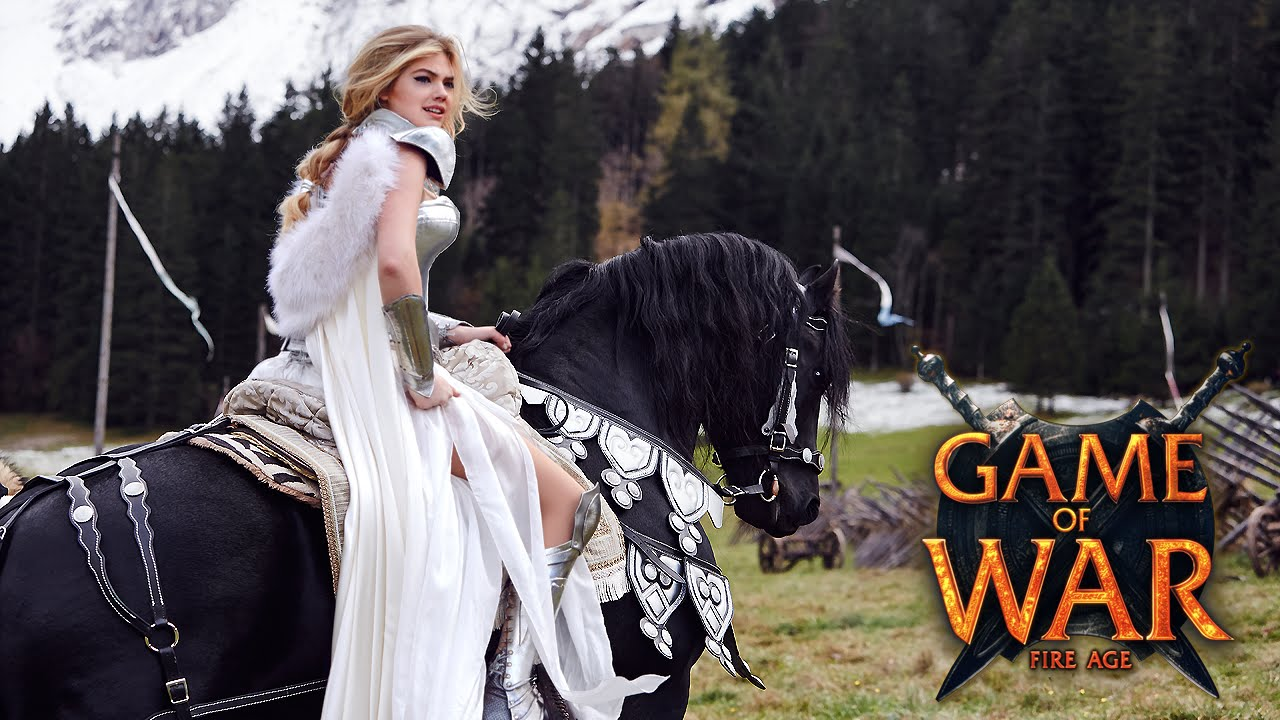 Game of war short commercial quot reputation quot ft kate upton youtube