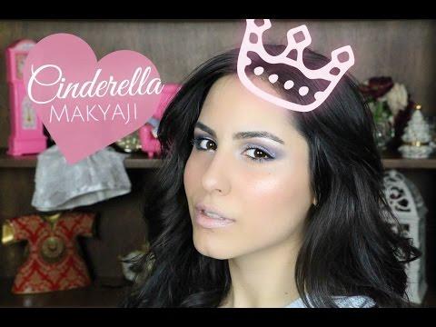 Külkedisi Sinderella Makyaji | Disney Princess Cinderella Make-up Tutorial | Melis Palalı video