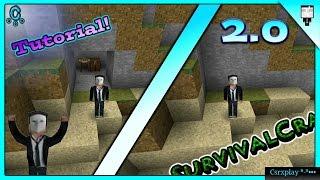 Como hacer una Puerta Secreta en Survivalcraft 2 2.0 Tutorial / Pistones #3