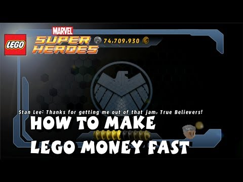 Lego Marvel Super Heroes - How to Make Money Fast 1080P HD