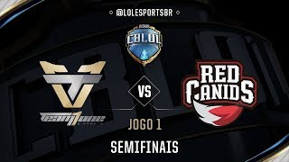 Download Team oNe x Red Canids (Jogo 1 - Semifinal) - CBLoL 2017 3Gp Mp4