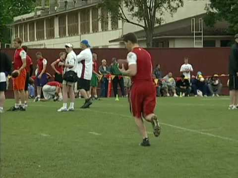 Tim Tebow at EA SPORTS Elite 11 2005 Video