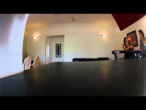 GOPRO Footage of open home - hidden camera