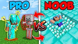 Minecraft NOOB vs. PRO : SWAPPED SAD LIFE in Minecraft (Compilation)