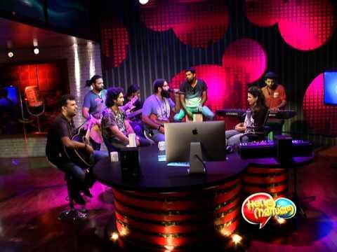 Hello Namasthey Ep 16 Thaikkudam Bridge on the show