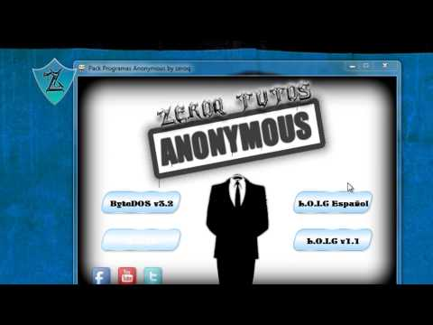 Tutorial - Descargar y Usar | Pack De Programas Anonymous | HD 1080p