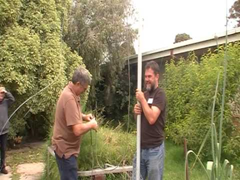10 metre antenna installation - part 4