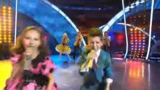 Junior Eurovision 2010 Russia - Sasha Lazin & Liza Drozd - Boy and girl