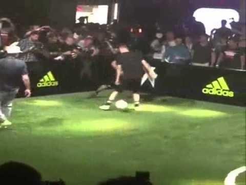 Zinedine Zidane's son Luca (17) Destroys Man United's Ander Herrera with an amazing Nutmeg !