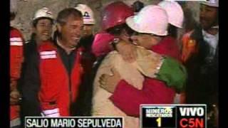 Thumb Video del rescate del Segundo Minero, Mario Sepúlveda