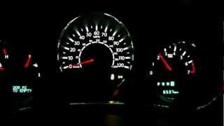 Chrysler 200 V6 3.6 Pentastar 0-60 mph (0-100 km/h) Launch, Massive 50 mph Burnout!