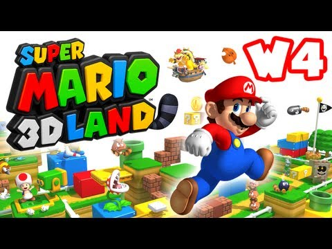Super Mario 3D Land - World 4 (Nintendo 3DS Gameplay Walkthrough)