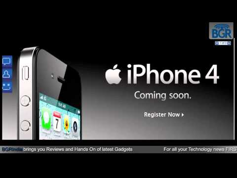Apple to launch the iPhone 4 16GB in India for Rs 31,800