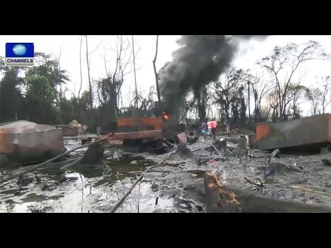 Navy's Air Patrol Uncovers Illegal Refineries In Niger Delta -- 06/09/15