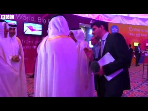 BBC News   Qatar World Cup  Minister dodges BBC reporter questions
