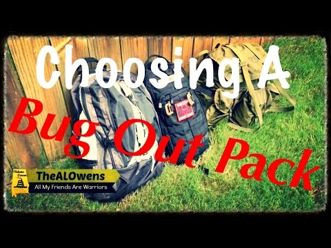 Choosing a Bug Out Pack - A VR to Jarhead6