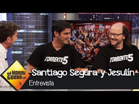 Santiago Segura y Jesulín de Ubrique en El Hormiguero 3.0: