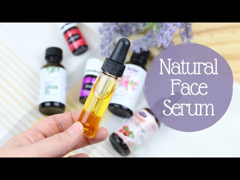Natural Face Serum | Homemade Face Serum | Face Serum For Glowing Skin | Face Serum For Dry Skin