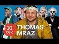 Узнать за 10 секунд | THOMAS MRAZ угадывает хиты T-Fest, Face, ATL, Oxxxymiron и еще 31 трек
