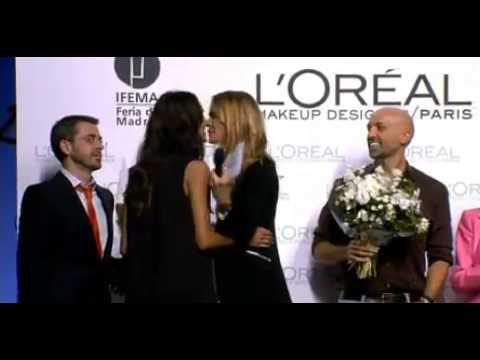 Alvarno y Dalianah Arekion, los premiados por L´Oreal en la Mercedes Benz Fashion Week Madrid