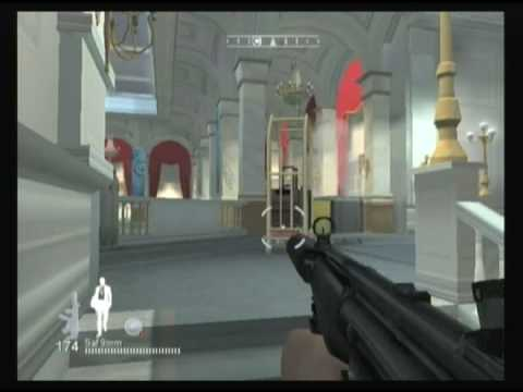 James bond qos wii gameplay casino royale pt2/3