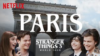 Stranger Things 3 World Tour | Paris | Episode 5