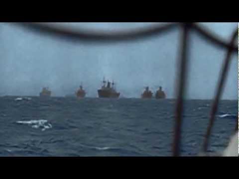 WW II Battle of the Philippine Sea in Color