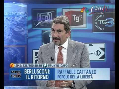 R. Cattaneo (Pdl): Berlusconi non può essere proposta del PdL, perderemmo le elezioni (06/12/'12)