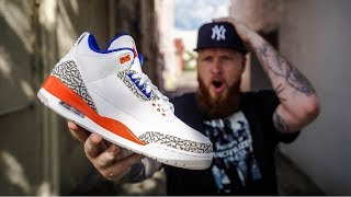 EARLY LOOK: JORDAN 3 KNICKS (One of the Best Jordan Retro Sneakers of 2019)