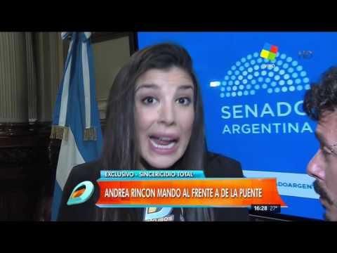 Andrea Rincón destrozó a De la Puente: Que se acuerde lo que le pedí