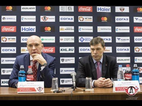 Автомобилист - Локомотив: Пресс-конференция, 18.10.2016