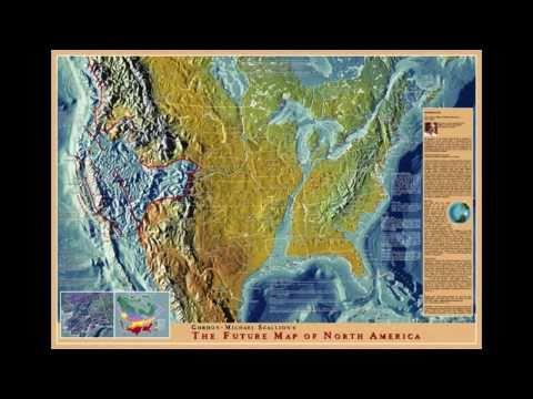 Edgar Cayce Future Map of America