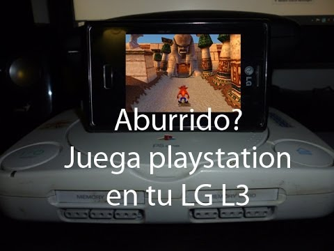 Tutorial Jugar playstation en LG Optimus L3