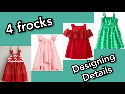 top summer frocks design for 02 year baby girl | frock design easy to make at home